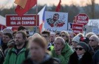 Близько 300 тисяч чехів вийшли на вулиці проти прем'єра Бабіша