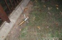 Поліція Мукачева розшукує людину, яка вистрілила з гранатомета на вулиці