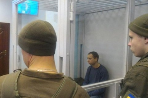 """Снайпера """"Омеги"""", подозреваемого в убийстве на Майдане, оставили под стражей"""