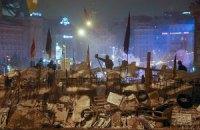 На Майдані Незалежності перебуває близько двох тисяч активістів