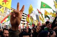 В Кельне тысячи курдов вышли на митинги против турецкой агрессии в Сирии