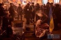Власть не пускает на Майдан машины с продуктами, - оппозиция