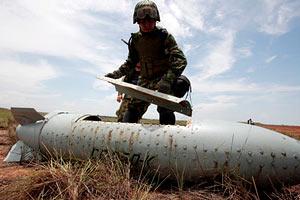 З 2008 року в світі було знищено 750 тисяч касетних бомб
