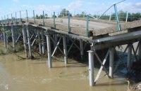 В Ивано-Франковской области обвалился мост