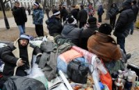 Чернобыльцы решили прекратить голодовку