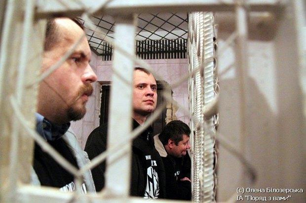 У украинского правосудия волчья хватка. <<Васильковские террористы>> во время вынесения приговора