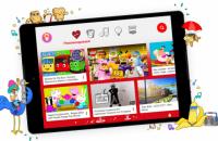 В Україні запустили дитячий YouTube з батьківським контролем