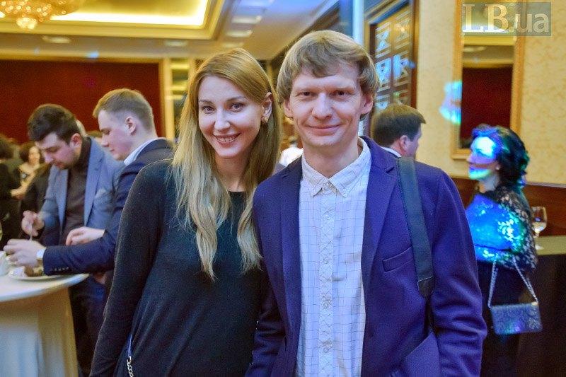 Фотокорреспондент Lb.ua Макс Левин и народный депутат Ольга Червакова