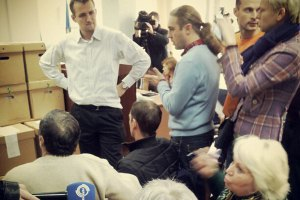 """На скандальном 223 округе комиссия снова подралась со """"свободовцами"""""""