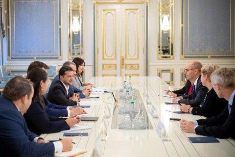 Володимир Зеленський обговорив з представниками МВФ подальшу співпрацю та реформи в Україні