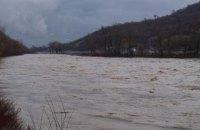 ГСЧС предупредила о повышении уровня воды на реках Закарпатья