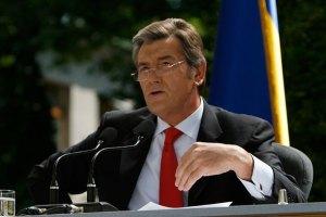 Ющенко поздравил украинцев с объединением правых партий