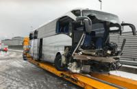 В Швейцарии при аварии автобуса один человек погиб, более 40 пострадали