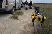 У Чорнобильській зоні випробували робособаку Boston Dynamics