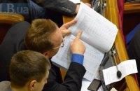 Рада ухвалила поправки до держбюджету