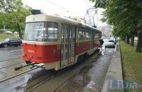 У Києві пасажир побив жінку-водія трамвая