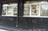 Полиция задержала мужчину, который разбил два окна в Генпрокуратуре