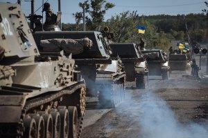 Сили АТО припинили вогонь на Донбасі, - РНБО