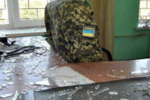 Боевики дважды обстреляли позиции пограничников на Донбассе