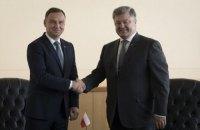 Порошенко встретился в Нью-Йорке с президентами Финляндии и Польши