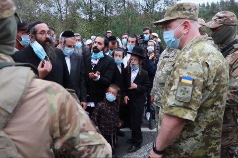 На границе с Украиной находятся несколько тысяч хасидов - главный раввин Киева