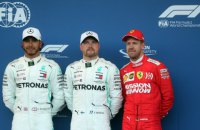 """У Формулі-1 дублем """"Мерседес"""" завершилася гонка на Гран-прі Азербайджану"""