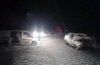 На автодороге Хмельницкий - Винница произошло ДТП с 8 пострадавшими
