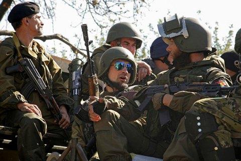 Боевики продолжают обстреливать позиции сил АТО на всех направлениях