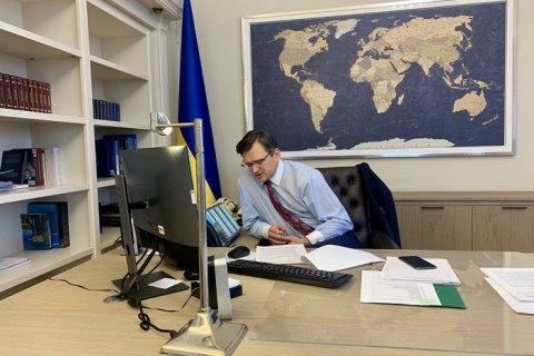Кулеба призвал ЕС не давать России манипулировать пандемией для снятия санкций