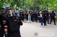 В Донецкой области протестуют из-за возможных фальсификаций на выборах (обновлено)