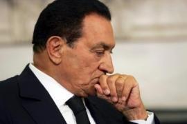 Мубарак перестал есть