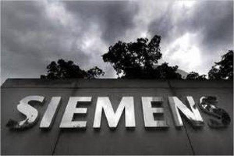 Сотрудники Siemens протестуют в Берлине