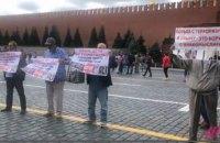 У Москві на Червоній площі затримали учасників акції на підтримку кримських татар