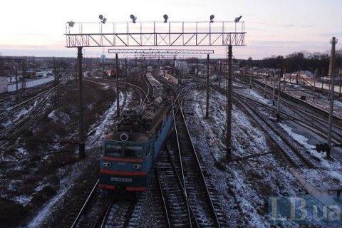 8 поїздів затримуються через сходження товарняка з колій у Київській області