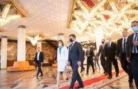 Зеленський зустрівся з президентом Молдови Маєю Санду