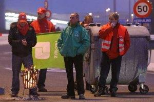 В Бельгии началась общенациональная забастовка