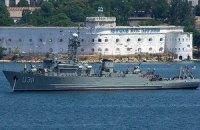 """Під час штурму """"Черкас"""" російські військові стріляли по кораблю, українські - в повітря"""