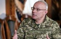 Начальник Генштаба посетил место вчерашней атаки боевиков в Луганской области