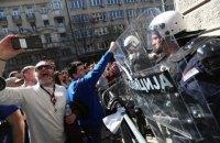 Протестующие окружили резиденцию президента Сербии