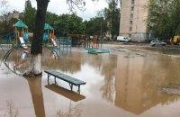 У Києві через прорив труби дитячий майданчик затопило окропом