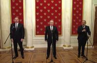 Алиев, Пашинян и Путин подписали заявление по развитию Нагорного Карабаха