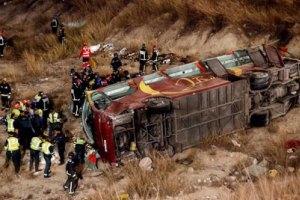 12 человек погибло в Испании в ДТП - разбился автобус