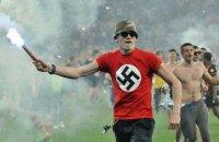 Британський таблоїд обізвав українських фанів фашистськими головорізами в ковпаках