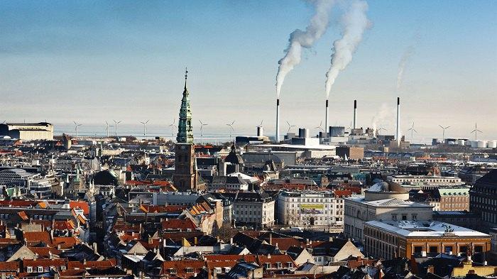 97% домохозяйств в Копенгагене подключены к системе централизованного теплообеспечения