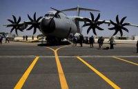 Руководство Германии прилетит в Украину на военных самолетах