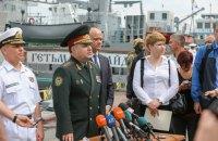 Украина ведет переговоры с Россией о возвращении кораблей, - Полторак