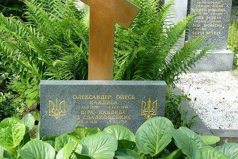 В Чехии вырыли из могилы останки украинского поэта Александра Олеся (обновлено)