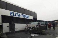 В Польше попал в ДТП двухэтажный автобус с украинцами (обновлено)