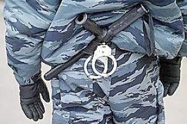 Сотрудники УБОП проводят обыск в центральном отделении Надра Банка