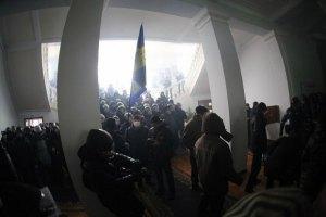 У Вінниці суд закрив справу проти студента, підозрюваного в захопленні ОДА
